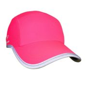 Headsweats Race Hats Neon Pink w-Reflective Piping