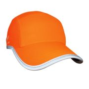 Headsweats Race Hats Reflective Neon Orange